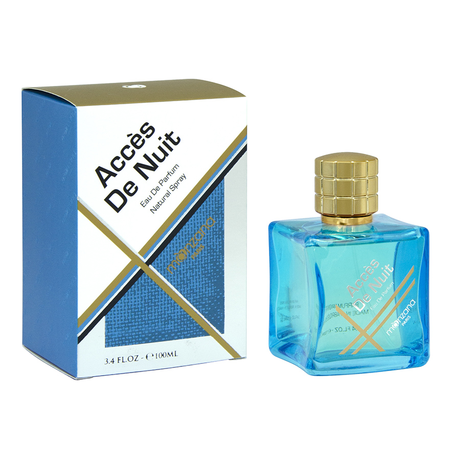 The ambiance shifts with a very fresh blue scent for a woody oriental fragrance suitable for both men and women. The design underlines the contemporary feel of this fragrance.
