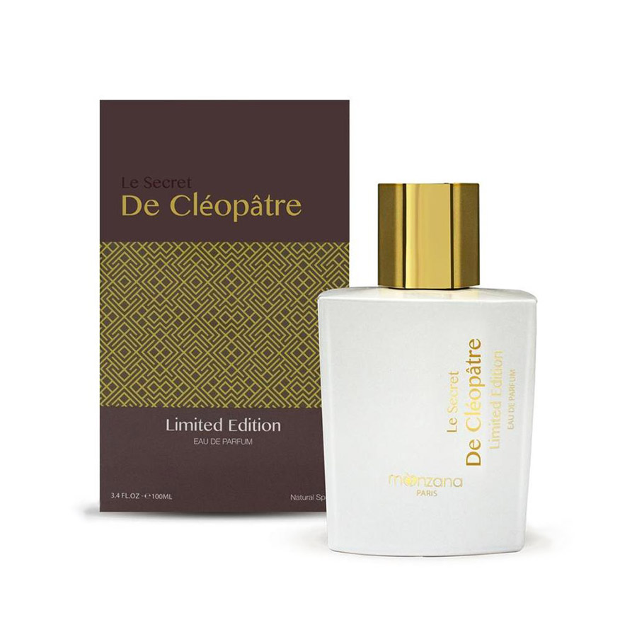 Women are enchanted by the incredible story of Cleopatra and her elegant olfactory signature evocative of an oriental journey. This amber powdery perfume has a strong, original character. Available with a matt or shiny gold stopper, the bottle has two different faces.