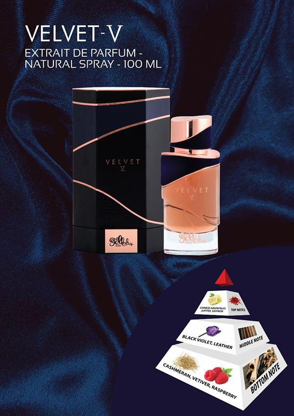 Avec son sillage voluptueux, ce parfum est littéralement enveloppant, tout en donnant la sensation d'être transporté à l'Opéra. Il est à la fois caressant  comme un tissu et fort avec l'audace des notes de cuir et de bois...